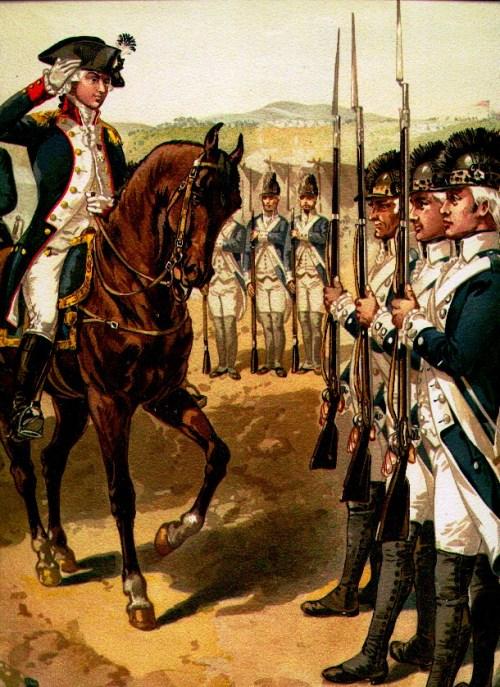 Light Infantry, 1782