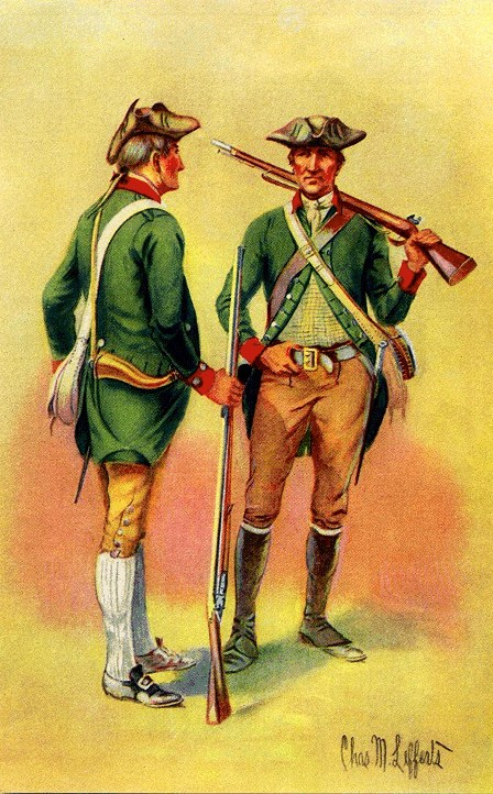Green Mountain Rangers, 1776