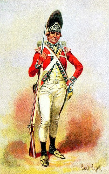 UNIFORMS OF THE AMERICAN REVOLUTION -- Grenadier Company