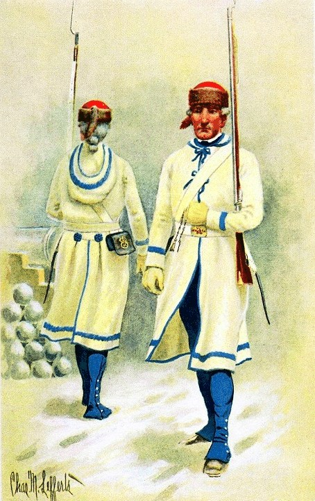 UNIFORMS OF THE AMERICAN REVOLUTION -- Royal North British ...