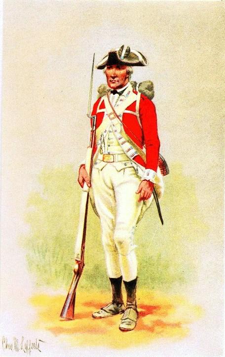 British Troop