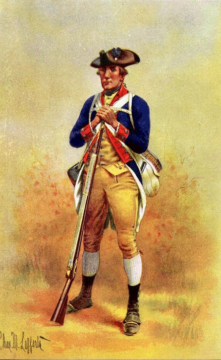 Second Maryland Continental Infantry, 1777